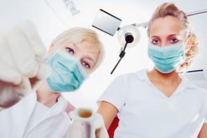 Enterprise Iowa Dentist and dental assistant